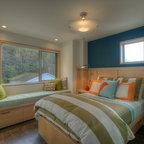 Jane Lockhart Attic Bedroom Modern Bedroom Toronto