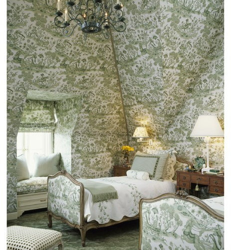 Bedroom Decorating Ideas Totally Toile: Toile Bedrooms Ideas, Pictures, Remodel And Decor