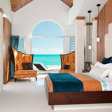 Tropical Bedroom by Henredon & Schoener