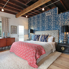 contemporary bedroom by Jeri Koegel Photography