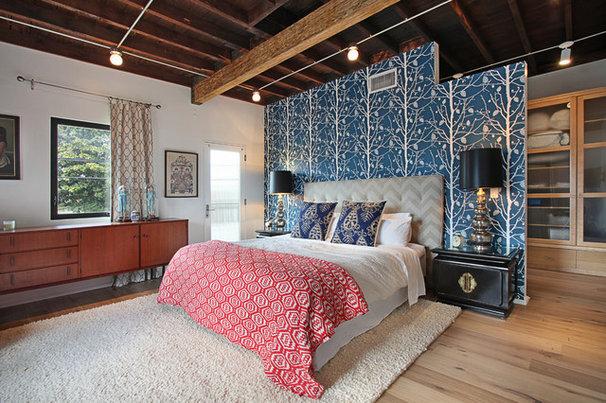 Contemporary Bedroom by Jeri Koegel Photography