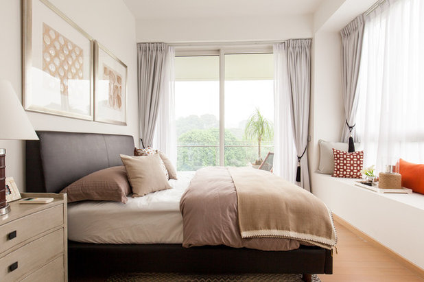 Contemporary Bedroom by Arete Culture