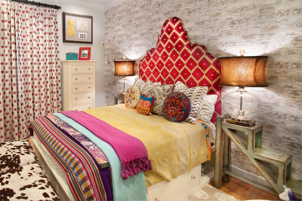 Eclectic Bedroom by A.Clore Interiors