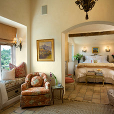 Mediterranean Bedroom by Giffin & Crane General Contractors, Inc.