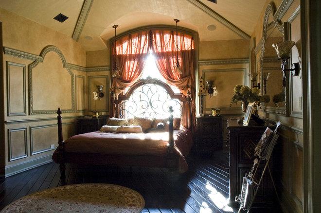 Mediterranean Bedroom by Letitia Holloway