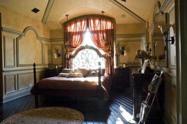 Mediterranean Bedroom by Holloway Studios