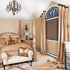 Mediterranean Bedroom by Decorating Den Interiors