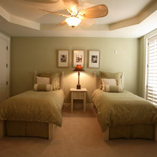 Traditional Bedroom by Michelle Miller Design, Inc.