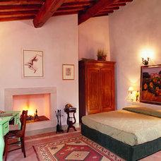 Mediterranean Bedroom by chianticortine.it