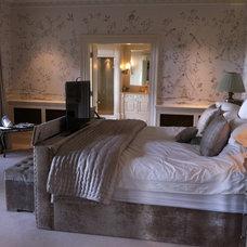 Traditional Bedroom by Heaven & Stubbs Bespoke Furniture Ltd