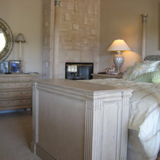 Transitional Bedroom by TV Lift Cabinet by Cabinet Tronix