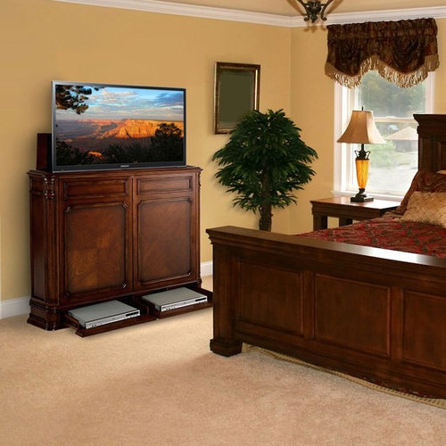 Retractable Tv | Houzz