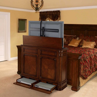 Traditional Bedroom by TVLiftCabinet, Inc