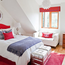 Transitional Bedroom by Lux Decor