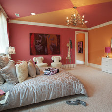 Eclectic Bedroom by Diane Bishop Interiors
