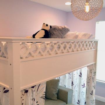 Tween Girl's Purple Bedroom