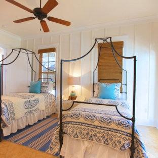 Twin beach cottage bedroom