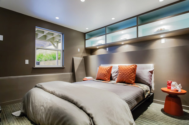 Modern Bedroom by Catherine Nguyen Photography