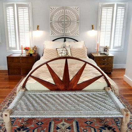 Beach Style Bedroom by Landing Design & Development