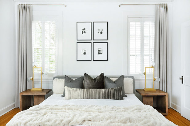 Contemporary Bedroom by Leslie Cotter Interiors