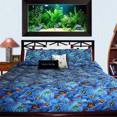 Tropical Bedroom by Dean Miller Surf Bedding
