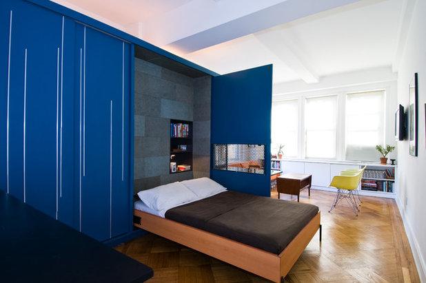 コンテンポラリー 寝室 by Michael K Chen Architecture