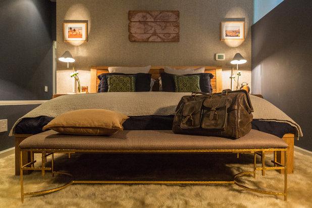 Современный Спальня by Peti Lau Inc.