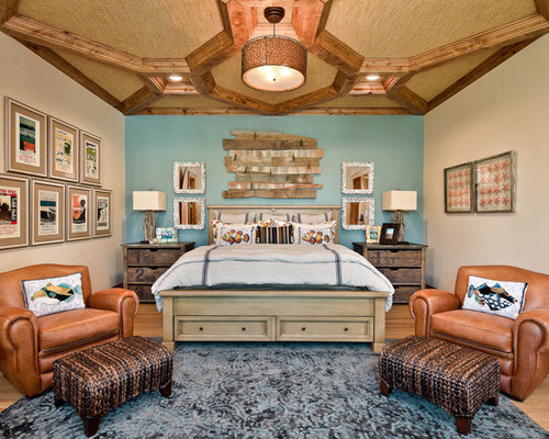 Art over bed home design ideas pictures remodel and decor - Over bed art ideas ...