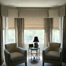 Traditional Living Room by Window Works