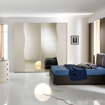 Upholstered Italian Bed Omega by Spar - $3,195.00