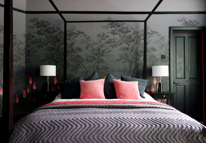 Eclectic Bedroom by Making Spaces