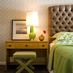 contemporary bedroom by Alexander Johnson Photography