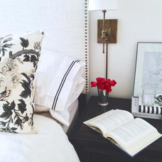 Transitional Bedroom by Becca Interiors