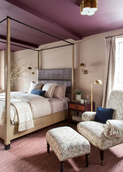 Transitional Bedroom by Raychel Wade Design