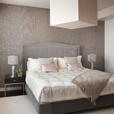 Transitional Bedroom by PURVI PADIA DESIGN