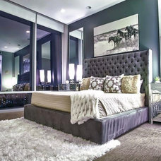 Contemporary Bedroom by Pearl Design