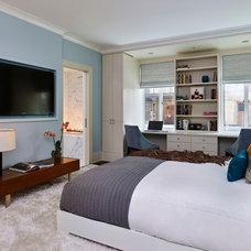 Contemporary Bedroom by AJS Designs