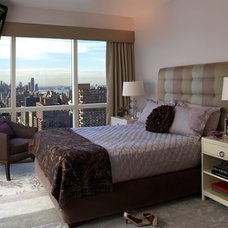 Modern Bedroom by Evelyn Benatar, New York Interior Design