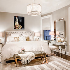 Transitional Bedroom by Emc2 Interiors
