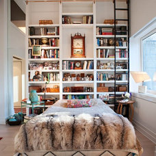 Eclectic Bedroom by Denizen Design