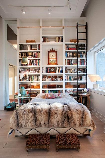 Eclectic Bedroom by Denizen Design