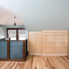 Contemporary Bedroom by Metamorphosis Design-Build