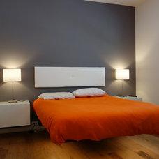 Midcentury Bedroom Uptown Phoenix Condo