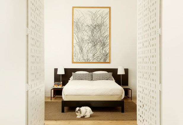 Contemporary Bedroom by de leon & primmer architecture workshop