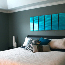 Modern Bedroom by S Squared Design