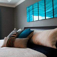 Contemporary Bedroom by S Squared Design, LLC