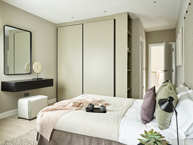 Contemporary Bedroom by Tailored Living