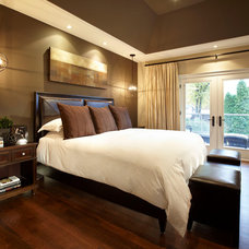 Contemporary Bedroom by Parkyn Design