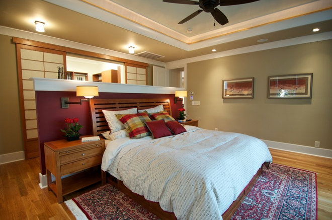 Contemporary Bedroom by Blue Sky Building Company