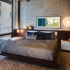 Contemporary Bedroom by Dwelling Designs